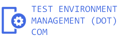 Test Environment Management (dot) Com Logo