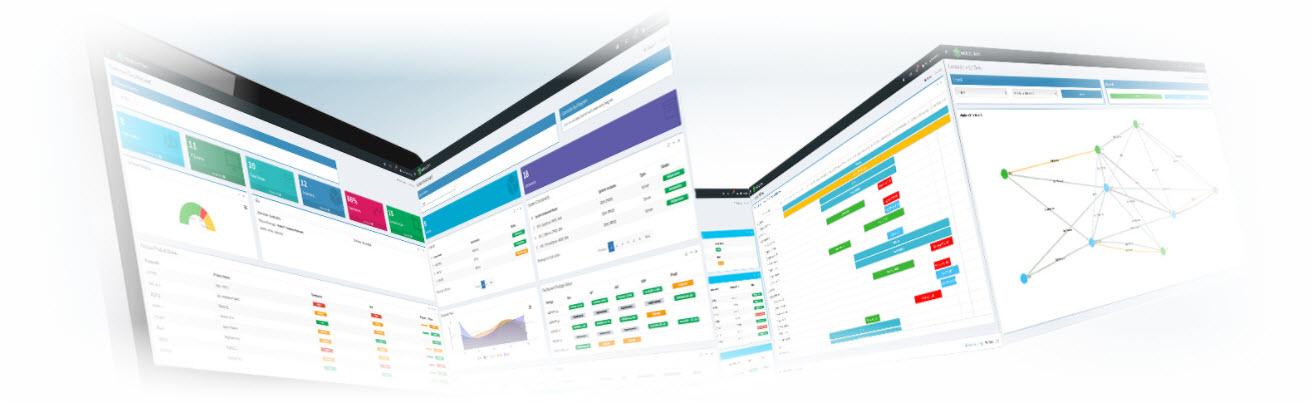Test Environment Management Dashboards